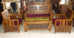 Kursi Tamu Minimalis Ukiran Kawung
