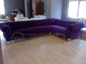 Sofa Tamu Chesterfield Model L
