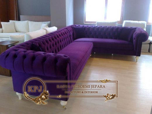 Sofa Tamu Chesterfield