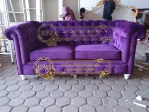 Sofa Chesterfield Dua Dudukan
