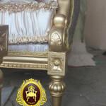 Detail Kaki Kursi Tamu Klasik Italian Baroque