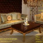 Sofa Tamu Klasik Mewah Elita