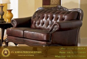 Sofa Tamu Jati Loren