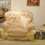 Sofa Tamu Mewah Venetian Baroque