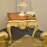 Meja Sudut Venetian Baroque