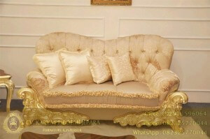 Sofa Tamu Klasik Venetian Baroque