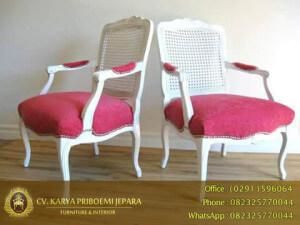 Kursi Louis Duco Putih