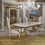 Meja Makan Klasik Modern Mewah Calista