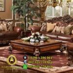 Meja Tamu Klasik Mewah Waldorf Savana