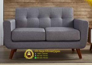 Sofa Tamu Vintage Minimalis 2 Dudukan