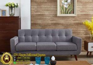 Sofa Tamu Vintage Minimalis 3 Dudukan