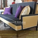 Sofa Minimalis Modern Black Doff