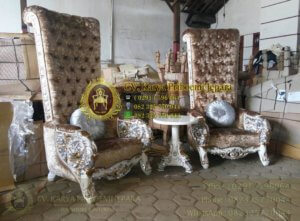 Kursi Ratu Mewah Ukiran Jepara