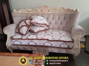 Kursi Sofa Tamu Mewah Bellissima Terbaru