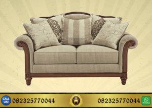 Sofa Tamu Jati Minimalis Modern